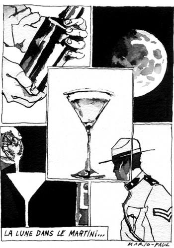 La Lune dans le Martini D